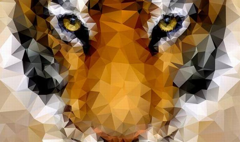 efecto geométrico en photoshop